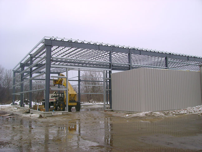 Construction of New Facility